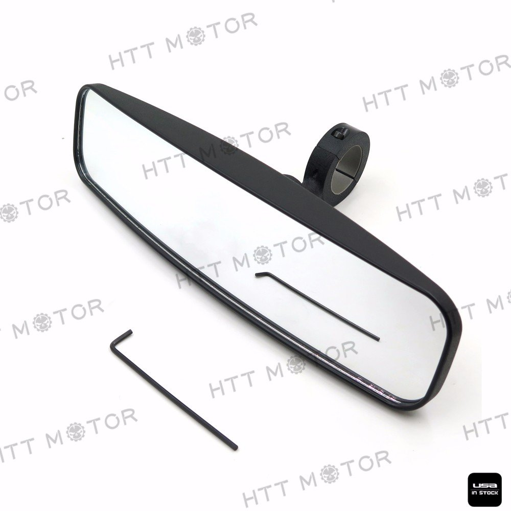 HTTMT- 1.75' Rear View High Impact Mirror for UTV POLARIS RZR XP 1000 900 800 570 RZR 4