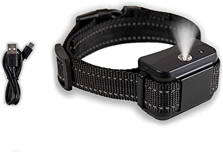 Downtown Pet Supply Rechargeable Citronella Anti-Bark No Shock Safe & Humane No Barking Water Resistant Dog Training Collar for Small, Medium, and Large Pets (Collar Only)