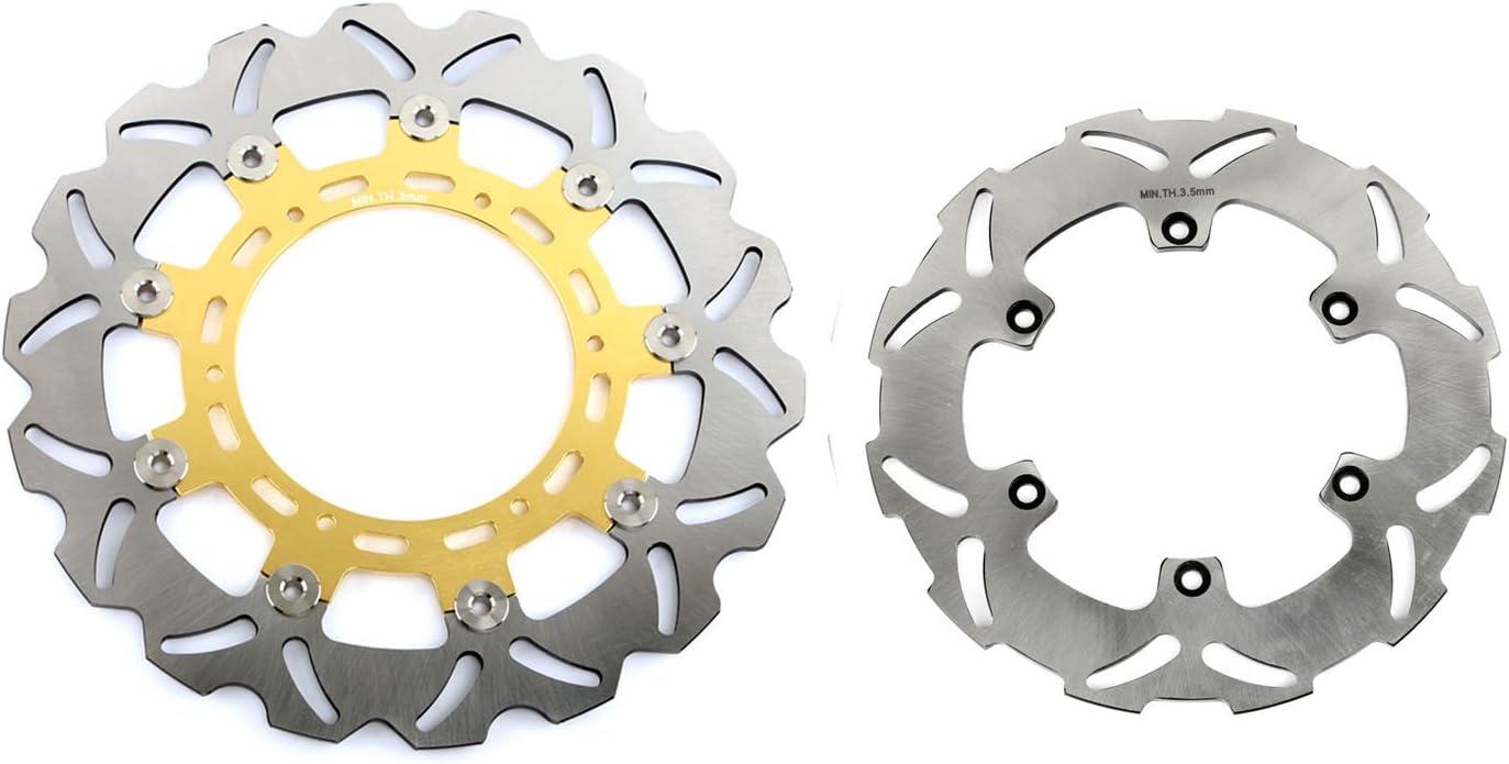 TARAZON Rotori Disco Freno Anteriore e Posteriore per KTM 640 LC4 Adventure R Supermoto 660 Rallye