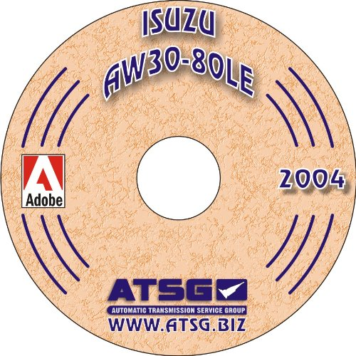 ATSG Isuzu AW30-80LE Techtran Transmission Rebuild Manual (Mini CD) (1988-1991)