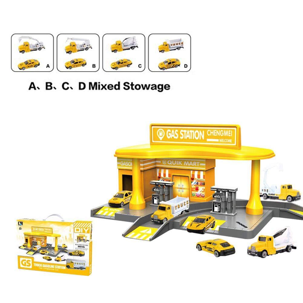 HoneybeeLY Aleaci ó n Infantil Material de ingenier í a Modelo de estaci ó  n de ... f4a7cc46865