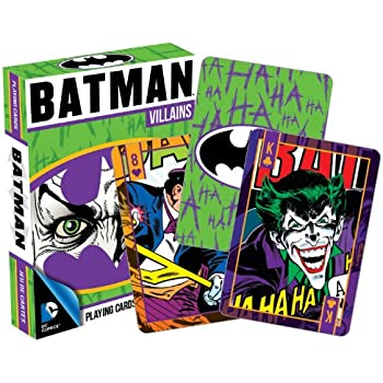 Amazon.com: DC Comics Batman Villains Playing Cards: Toys & Games