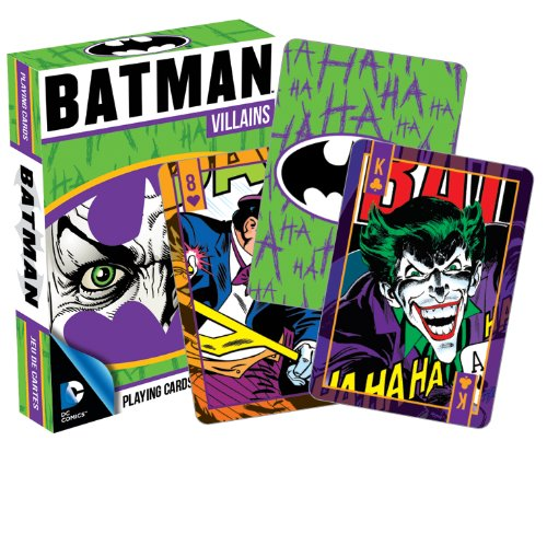 Aquarius DC Comics Batman Villains Playing Cards ()