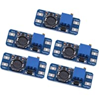 5 X MT3608 DC-DC 2-24V to 5-28V Step Up Power Supply Module