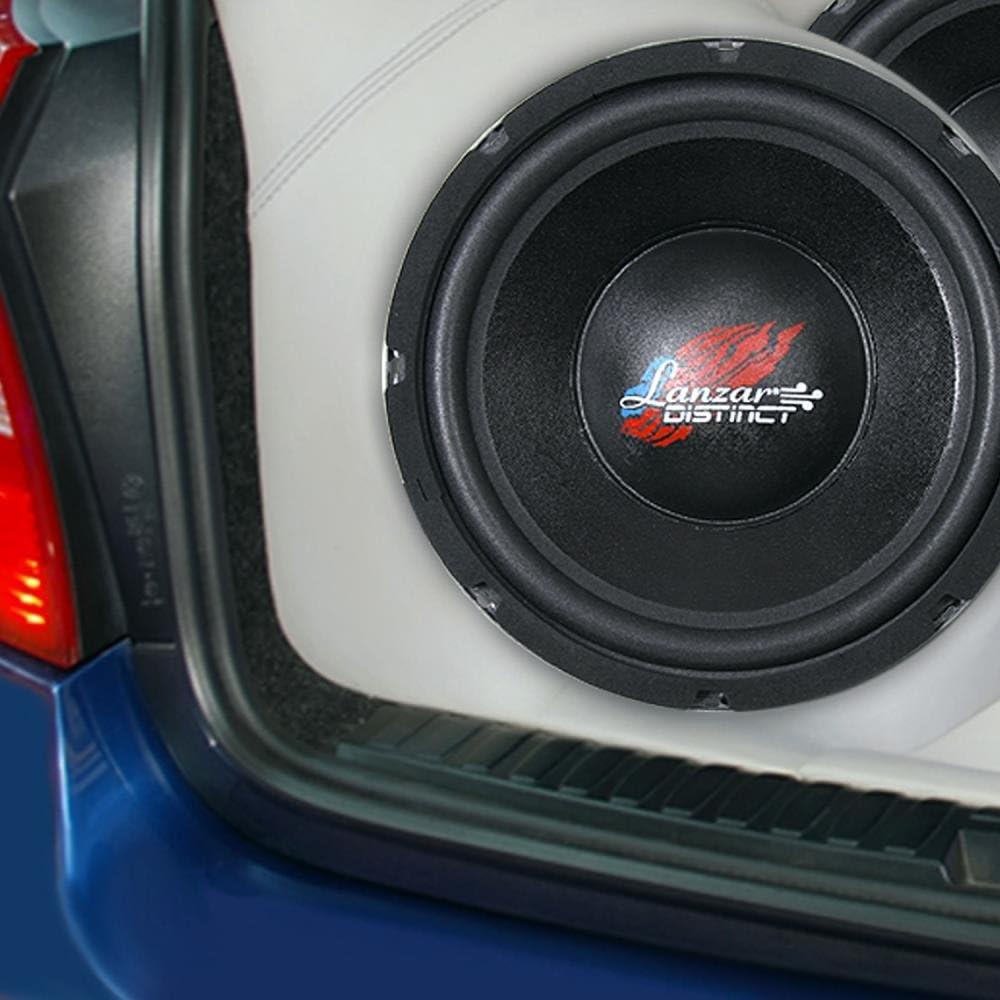 Lanzar DCTOA10D Distinct Open Air DVC Distinct Series 10-Inch High Power IB Open Free-Air 4 Ohm Subwoofer DVC Set of 1