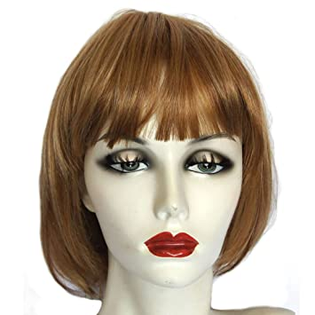 Hothair Bobbi Slightly Long Bob Wig Maple Mist