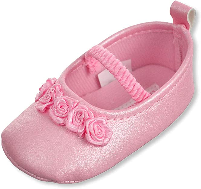 Laura Ashley Baby Girls Mary Jane Booties
