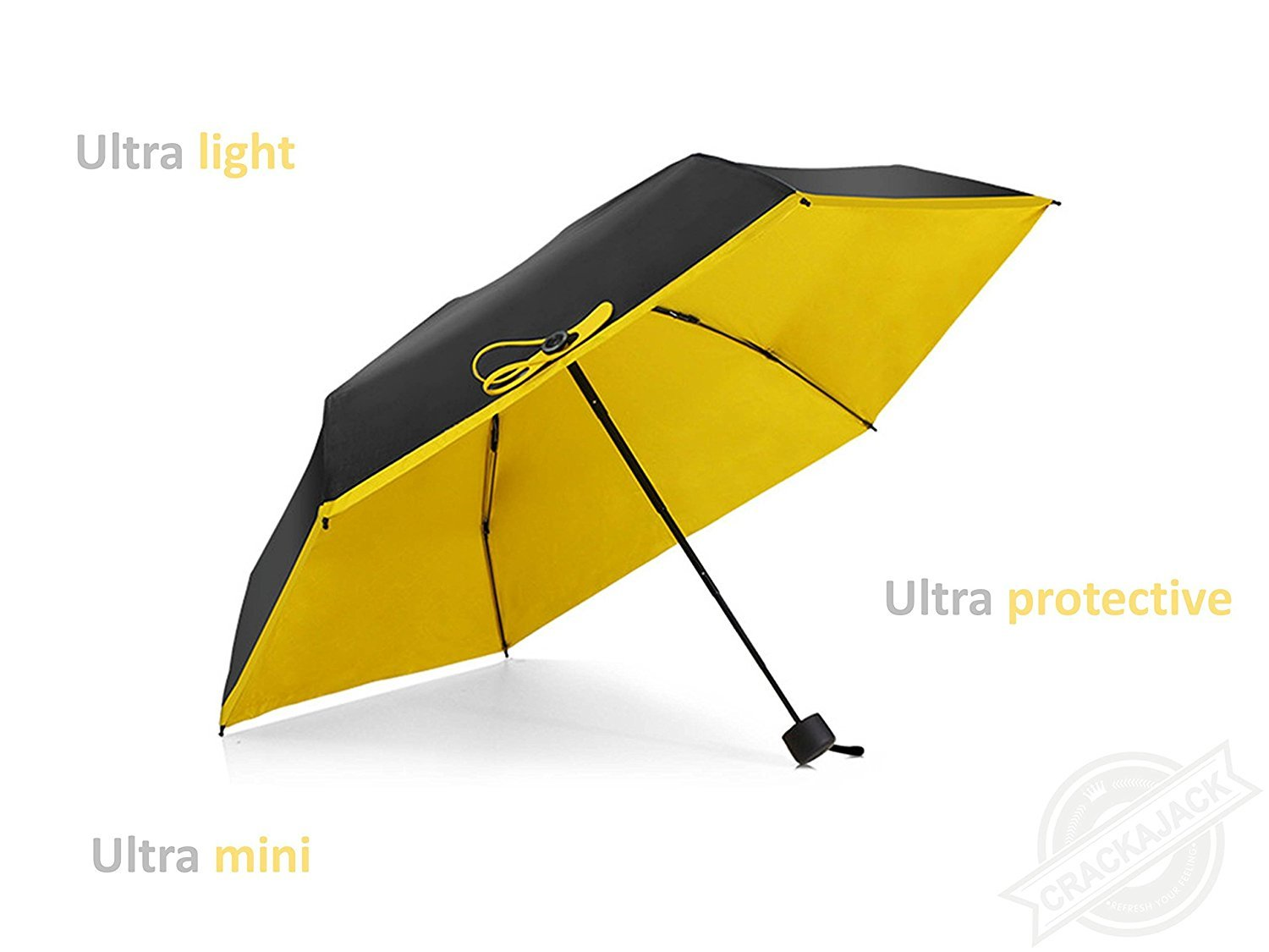 Protective and Portable Your Intimate Helper in This Season Compact Travel Umbrella Yu Chang Trading crackajack Lightweight