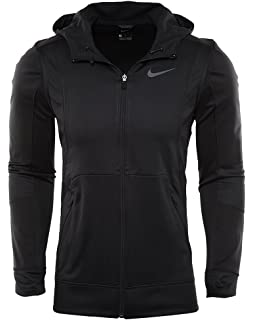 d41831f85ea186 Nike Therma Hyper Elite Basketball Hoodie Black Black Iridescent Men s  Sweatshirt