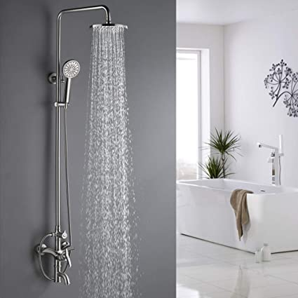 Amazon.com: Sistema de ducha para exteriores de PHASAT, SUS ...