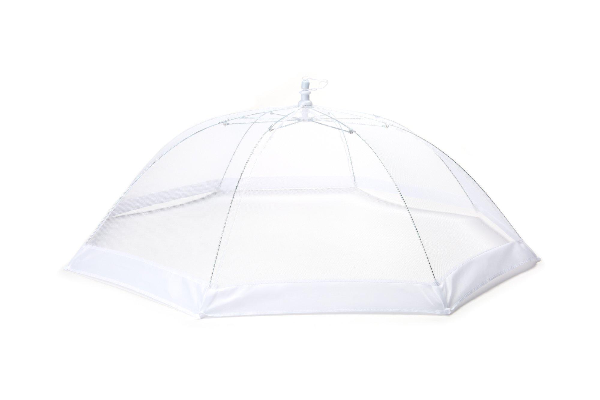 Fox Run 5490 Round Food Umbrella, 30'', White