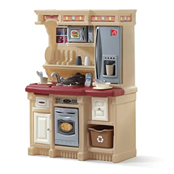 amazoncom step2 lifestyle custom kitchen maroon toys games - Step2 Kitchen