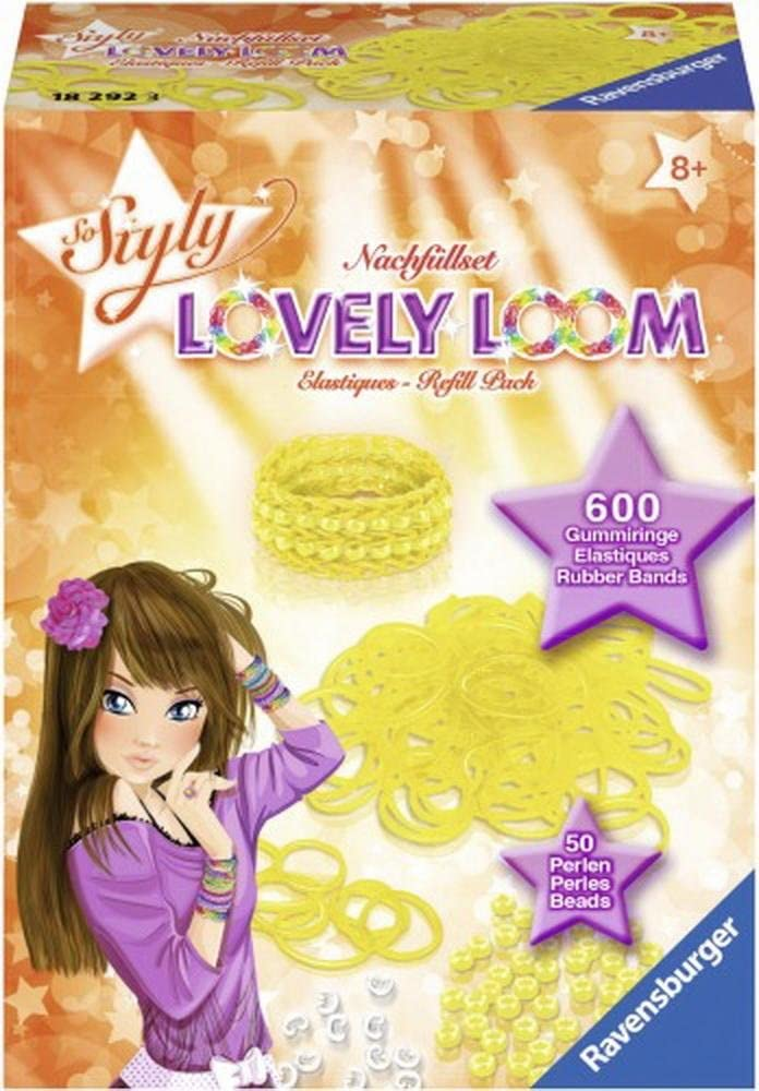 So Styly Lovely Loom Refill gelb by Ravensburger