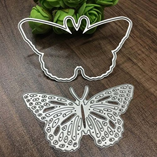 Clearance!VESNIBA Christmas Metal Dies Cutting Die for Cards Making Butterfly Embossing Stencils for DIY Craft by VESNIBA (Image #2)