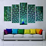 "Generic Modern Landscape ""Peacock"" Canvas Print Wall Art for Home Decor No Frame"