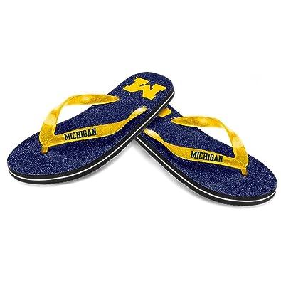 Women's Michigan Wolverines ... Flip Flops YrOU9mBL