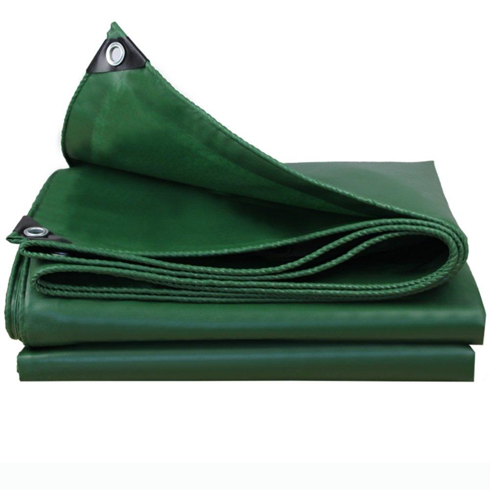 JIANFEI オーニング 防水耐寒性日焼け止め耐熱性耐摩耗性PVC厚さ0.4mmカスタマイズ可能 (色 : Green, サイズ さいず : 2.8x3.8m) B07FVTZQPC 2.8x3.8m Green Green 2.8x3.8m