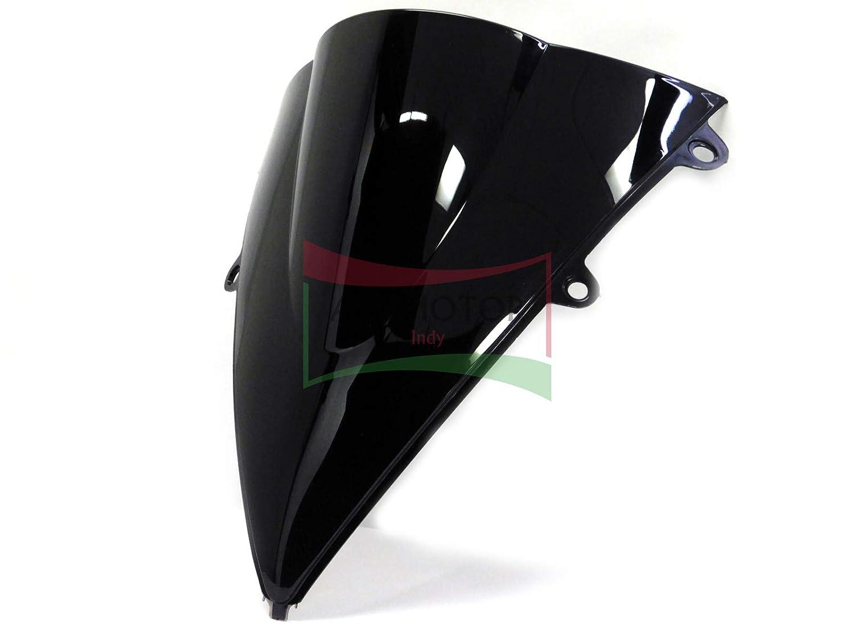 Protek ABS Plastic Injection Black Smoke Double Bubble Transparent Windscreen Windshield Front Visor for 2012 2013 2014 2015 2016 Honda CBR1000RR