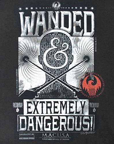 Fantastic Beasts And Where To Find Them Wanded And Extremely Dangerous Men's T-Shirt (L)