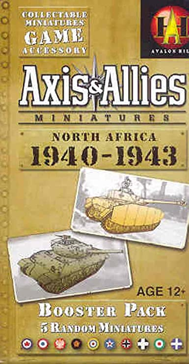 WOTC Axis /& Allies Miniatures North Africa 5//60 Greek Soldier