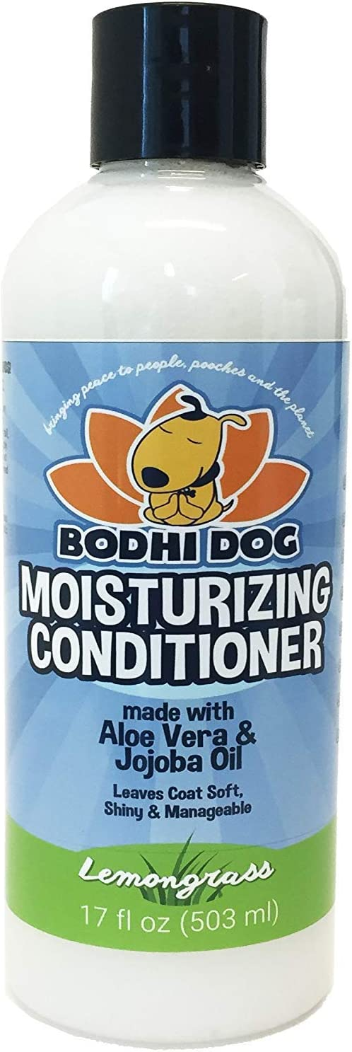 New Natural Moisturizing Pet Conditioner | Conditioning for Dogs, Cats and More | Soothing Aloe Vera & Jojoba Oil | Vet and Pet Approved Treatment - Made in The USA - 1 Bottle 17oz (503ml)