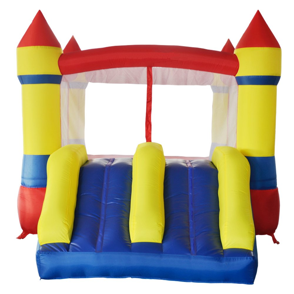 Amazon.com: ART TO REAL Inflatable Bounce House with Dual Slides - Indoor  Outdoor Inflatable Jumper Moonwalk Bounce Castle with Blower - Outdoor  Garden Play ...