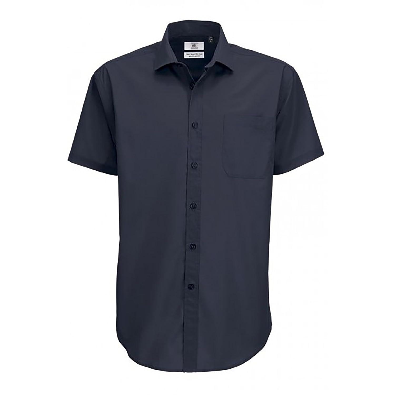 B/&C Mens Smart S//S Shirt
