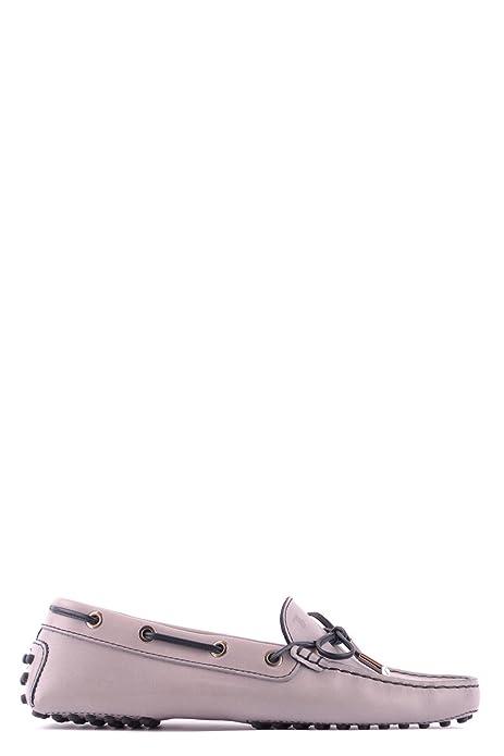 Tods - Mocasines para Mujer Gris Gris IT - Marke Größe, Color Gris, Talla