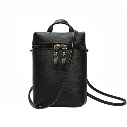 Cute Small Leather Crossbody Shoulder Purse Bag Fashion Mini Phone Bag for  Women and Girls Travel c24fb3fbfc210