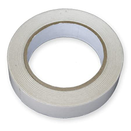 6 Rolls Of 25mm Double Sided Sticky Tape 1 Inch Wide X 50 Metres