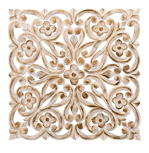 regal-art-gift-carved-square-wall-decor-24-white