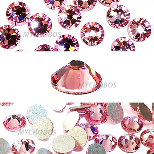- Light Rose (223) Swarovski 2058 Xilion / NEW 2088 Xirius 20ss Flat backs Rhinestones 5mm ss20 (144 pcs)