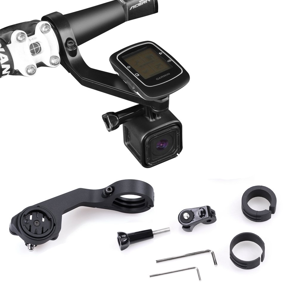 XCSOURCE Out Front Bike Handlebar GPS Computer Mount for Garmin Edge Bicycle 200/500/800/510/810/1000 OS758