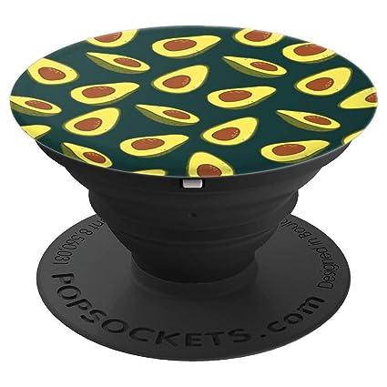 Amazon.com: Avocado Pop Socket patrón de cumpleaños regalo ...