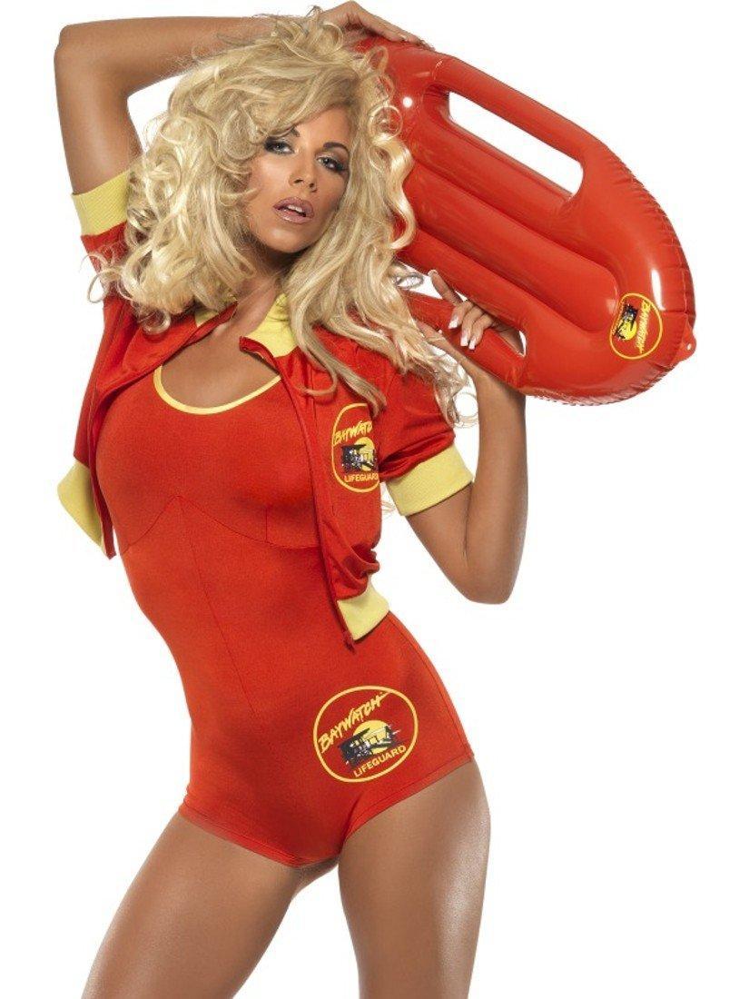 Kostüm Karneval Damen Pamela bagnina Baywatch Smiffy 's  10298, mehrfarbig S