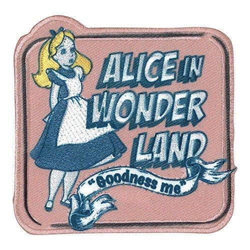 ミノダ ディズニー ヴィンテージ風ワッペン Disney 不思議の国のアリス D01Y0600の商品画像