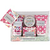 Vintage & Co Mini Hand Care Set, Fabric & Flowers