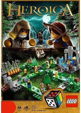 LEGO HEROICA Waldurk Forest - Juego de Tablero (Travel/Adventure Board Game): Amazon.es: Juguetes y juegos