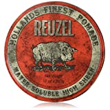 REUZEL Hair Pomade Hog, Red, 12 oz