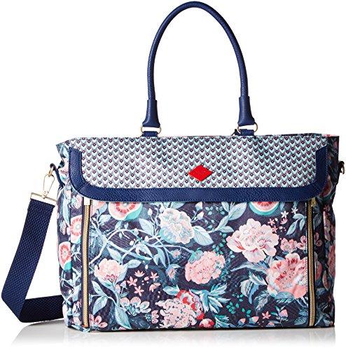Oilily Oilily Office Bag OES6163-547 Damen Umhängetaschen 40x30x12 cm (B x H x T), Blau (Lagoon 547)