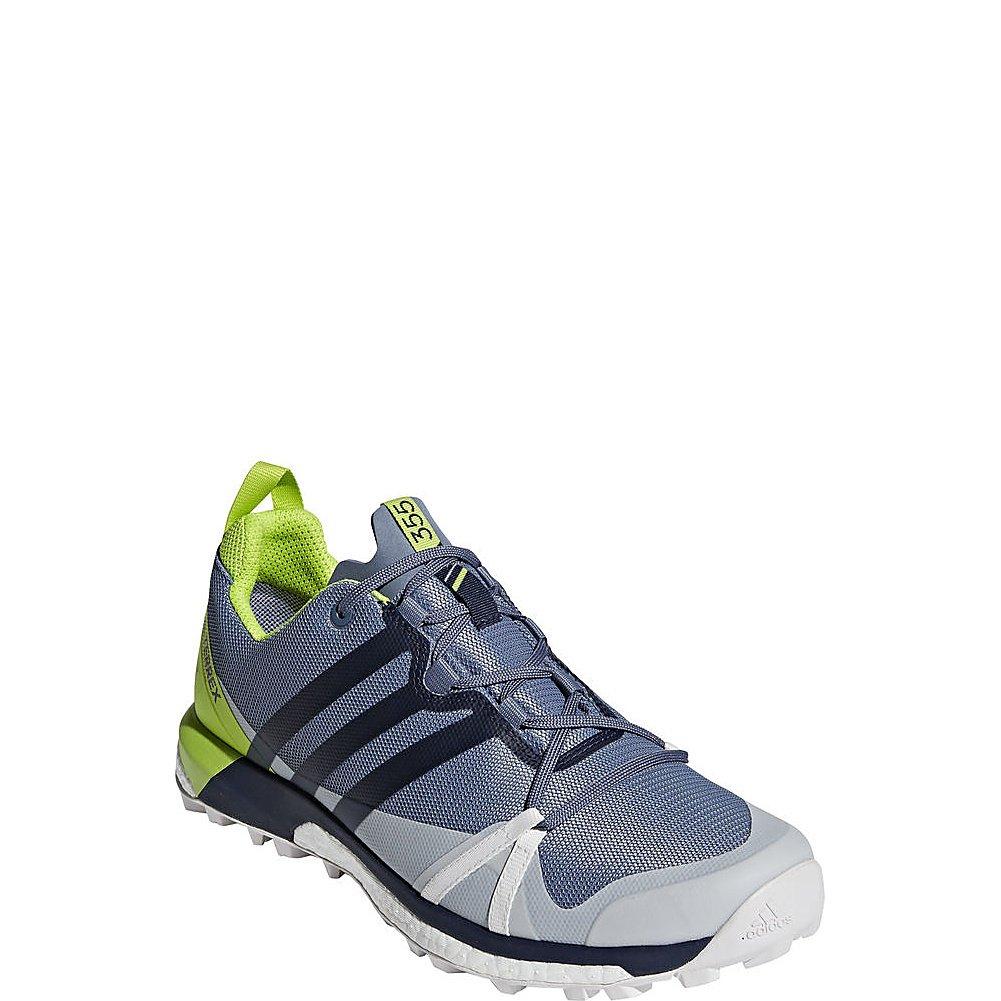 adidas outdoor Mens Terrex Agravic GTX Shoe B071GWZ6YP 10 D(M) US|Raw Steel/Col. Navy/Solar Slime