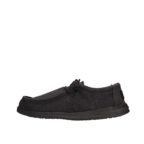 Dude Shoes Wally Clásico Negro azabache Hombres UK6/EU40 5VukAl