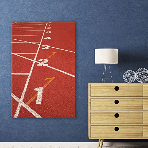 Sports Theme Red Rubber Track