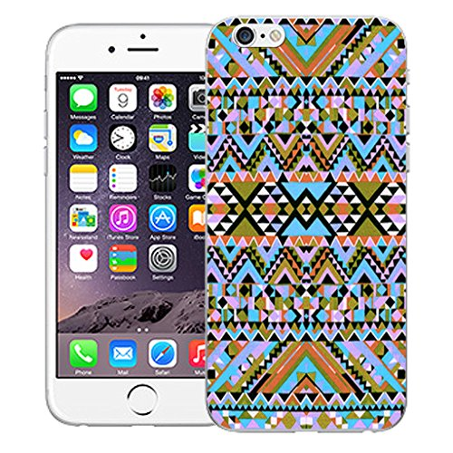 "Mobile Case Mate iPhone 6S 4.7"" Silicone Coque couverture case cover Pare-chocs + STYLET - Ethnic pattern (SILICON)"
