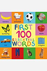 First 100 Essential Words: Childrens Books - Kids Books - Baby Book - Toddler Book - Childrens Book - Kids Book - Books For Kids - Baby Books - Kid Book - 100 Words - Word Book - Best Books For Kids Kindle Edition