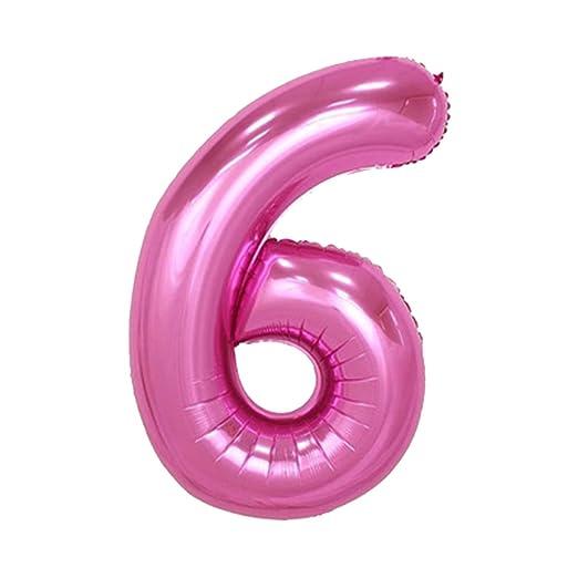 iiniim rosa globo gigante de cumpleaños fiesta Memorial Day número ...