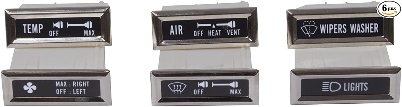 Omix-Ada 13319.01 Dash Indicator Light Kit