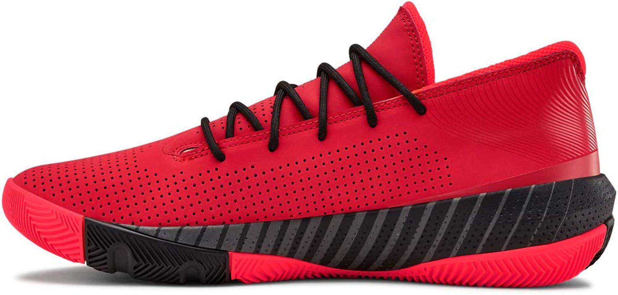 Under Armour Sc 3zer0 Iii Zapatos de Baloncesto Hombre, Rojo (Red ...