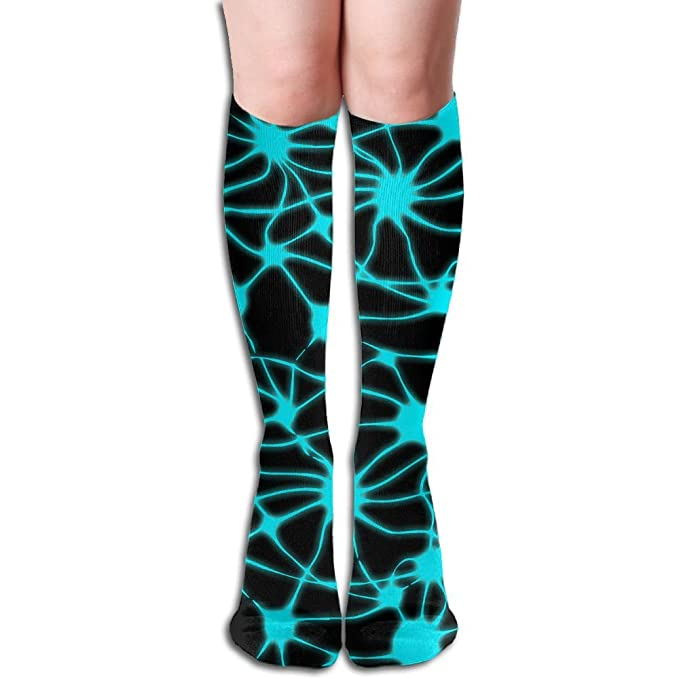 5c480b93276 Amazon.com  Neurons Glow-in-the-Dark Printed Funny Casual Comfort Soft  Blend Crew Sock Athletic Socks  Clothing