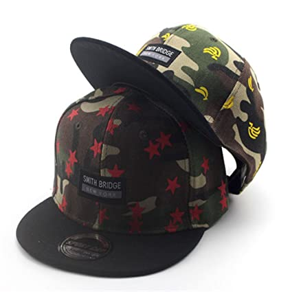 aa89ae342b2 Buy Generic Yellow   Cool Children Boy Girl Kids Army Military Camouflage  Outdoor Sports Baseball Cap Cayler Sons Letter Bones Snapback Hip Hop Caps  Online ...